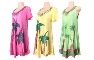 Relaxed & Flowy Palm Trees Dress