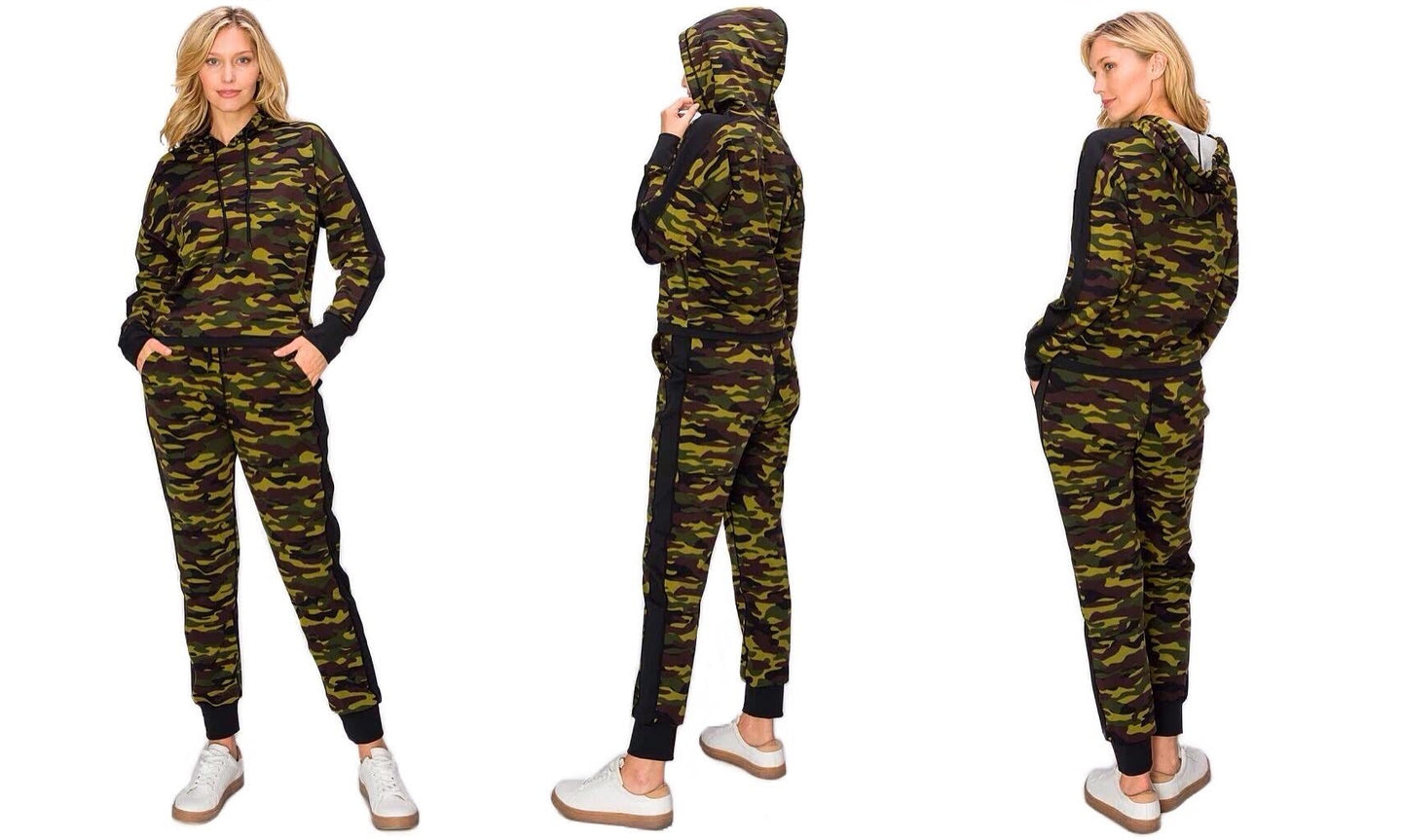 Camouflage Active Jogging Set