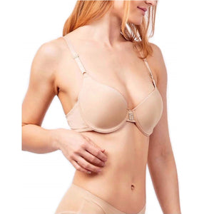 Rhinestone Center Plain Lounge Bras