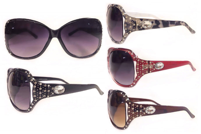 Oversized & Rhinestone Fashion Sunglasses
