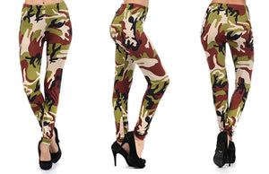 Camouflage Fashion Leggings