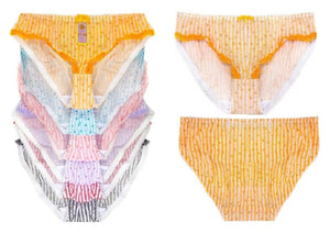 Mesh High Cut Stretch Bikini Panties