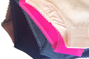 Scallop Trim Full Coverage Panties