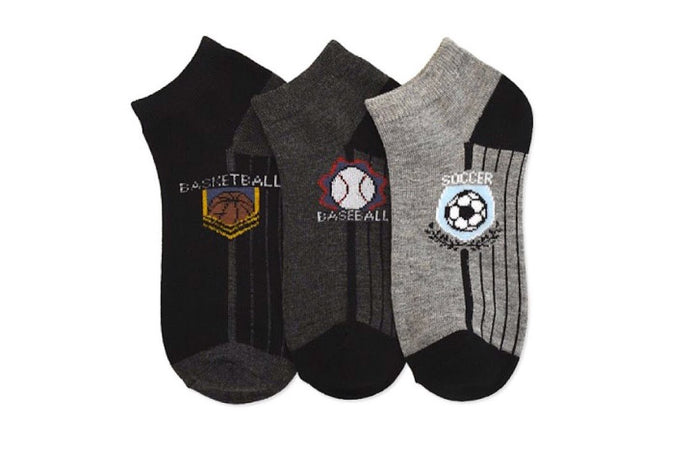 No Show Sports Ankle Socks (12-Pairs)