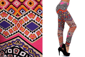Aztec Cultural Leggings