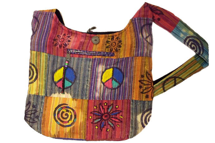 Patchwork Cross-body Shoulder Tote Bag