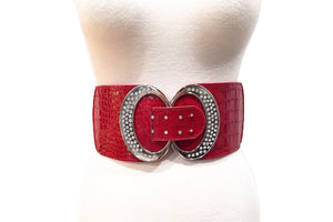 Stretchy & Adjustable 4 Inch Wide Waist Belt
