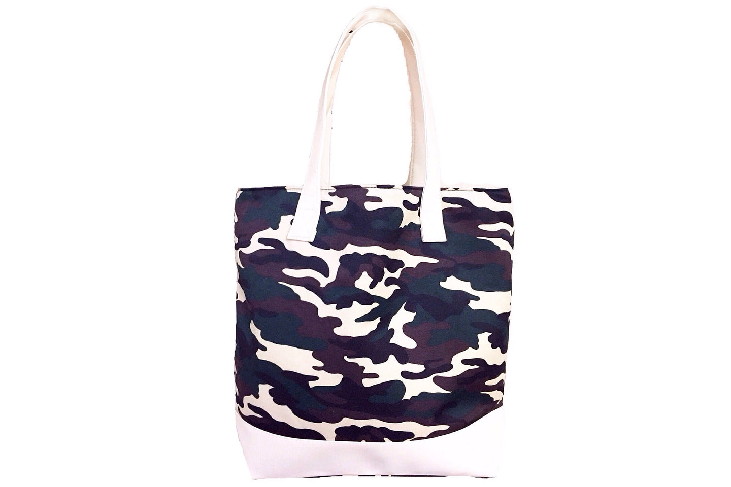 Fabric Casual Swing Tote Bag - Army