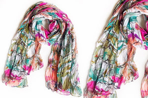 Blooming into Spring Sheer Scarf
