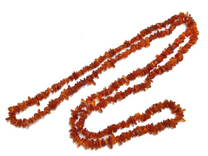 Natural Baltic Amber Long Necklaces