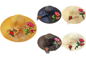 Rose Blossoms & More Floppy Sun Hat