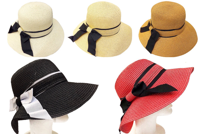 Everyday Straw Sun Hat with Wide Brim
