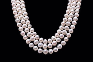 "Naturally Made 21"" Freshwater Pearls"