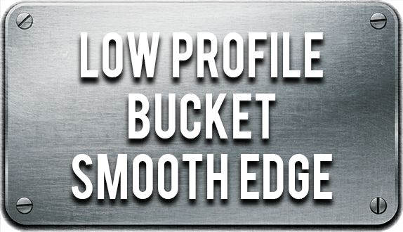 Low Profile Smooth Edge Bucket For Skid Steer Loaders | Attachment Kings