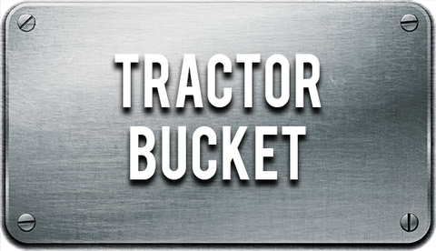 Quick attach bucket for Tractors