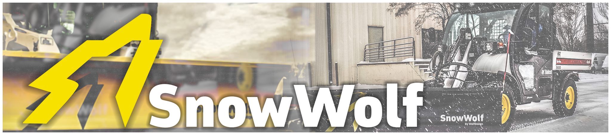SnowWolf Attachments | Snow Removal Attachments for Skid Steer Loaders