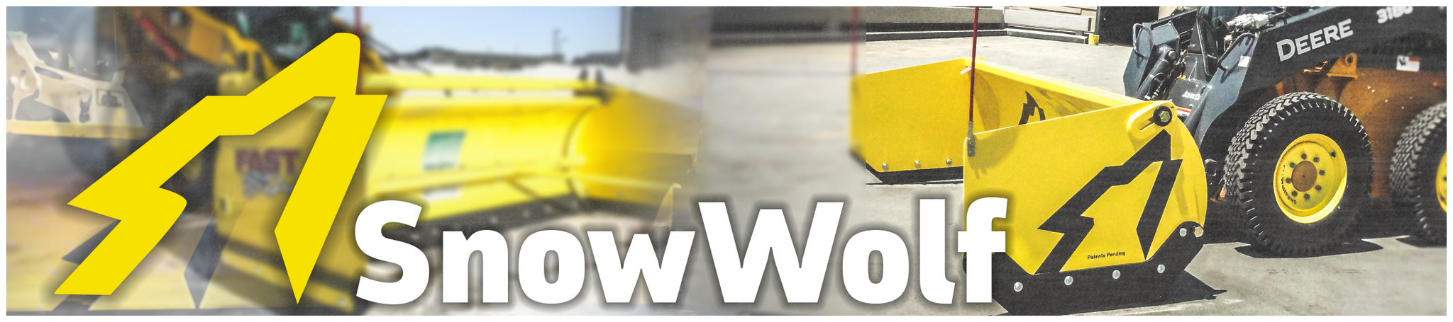 Snow Wolf Snow Pushers for Skid Steer Loaders