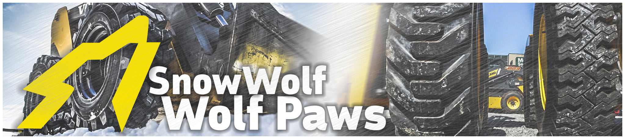 Snow Wolf Wolf Paws for Skid Steer Loaders