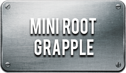 Mini Root Grapple Attachment