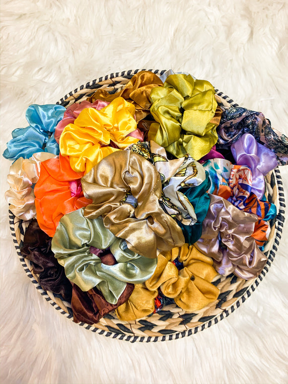 Satin Scrunchie Grab Bag
