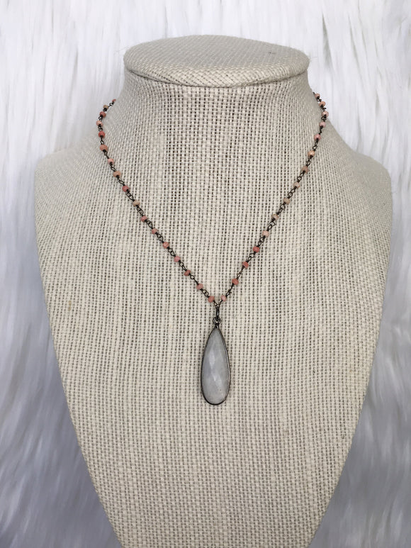Gunmetal Moonstone