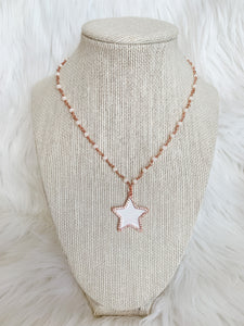 Rose Gold Star