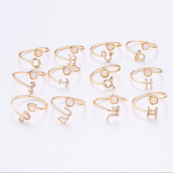 Zodiac Sign Rings