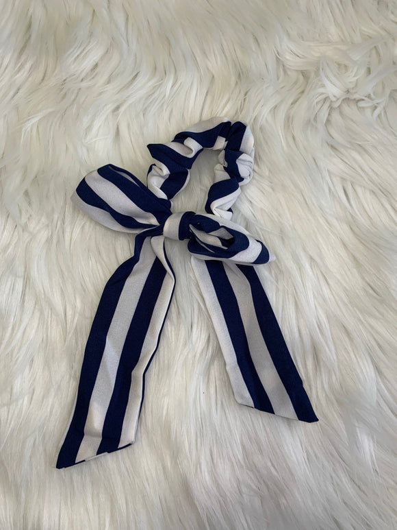 Striped Hair Scarf