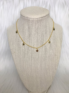 Dangle Star Choker
