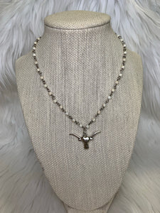 Steerhead Necklace