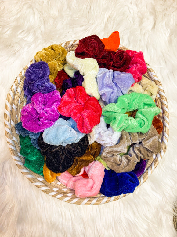 Velvet Scrunchie Grab Bag