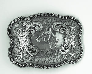 Nocona  Belt Co. Horsehead Buckle