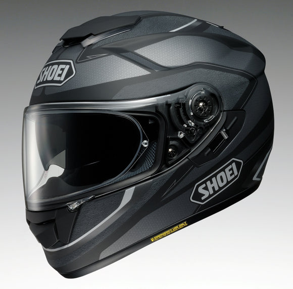 shoei gt air swayer tc 5 siver matte black helmet. Black Bedroom Furniture Sets. Home Design Ideas