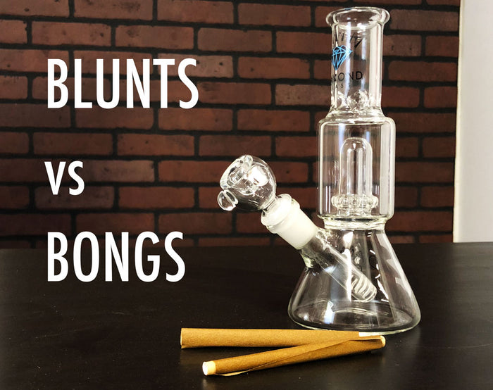 Blunts vs. Bongs - What's Better to Use?