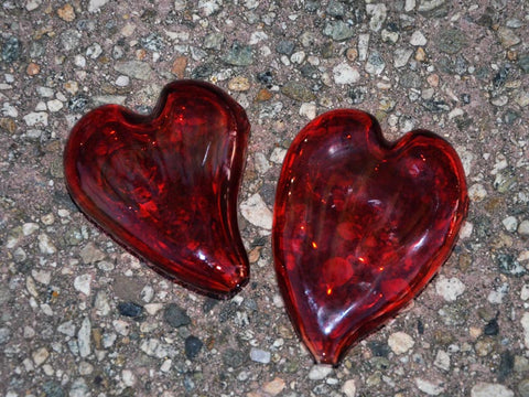 Heart Shaped Glass Pipe