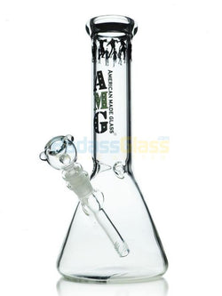 "12"" Zombie Beaker Water Pipe by A.M.G Glass"