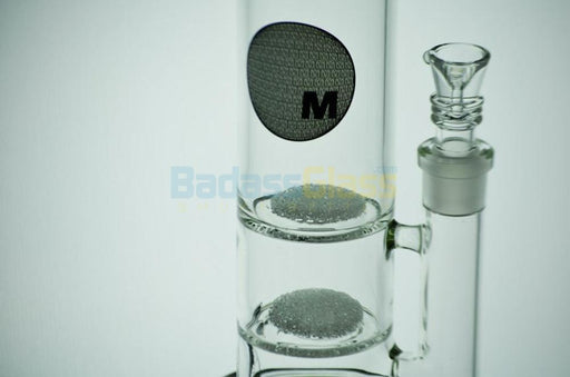 "14"" Double Fritted Disc Waterpipe by Maverick"
