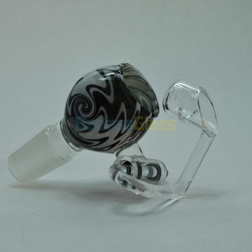 18mm Black And White Quartz Honey Bucket