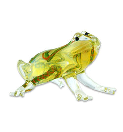 "3 1/2"" Frog Glass Pipe"