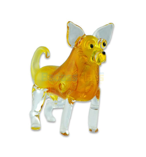 "4"" Chihuahua Glass Pipe"