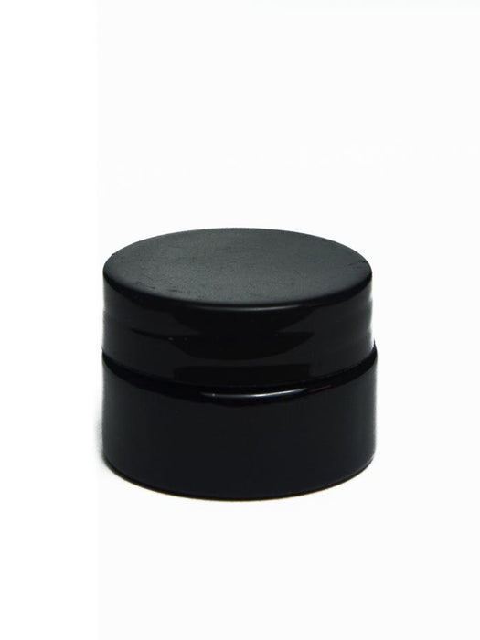 5ml Black Glass Jar