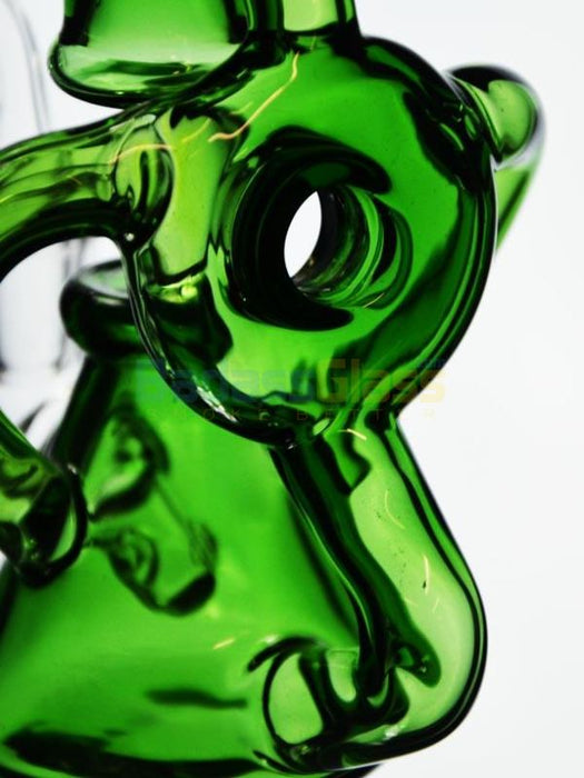 "6.5"" Orbital Recycler by SWRV Glass"