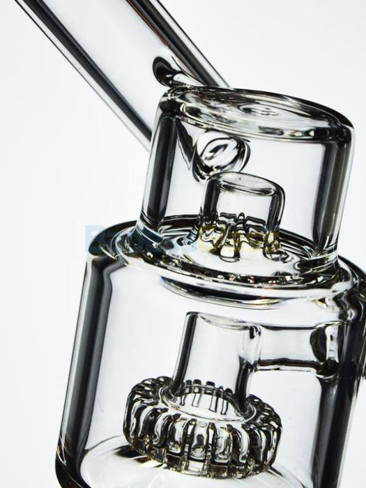 "6"" Sidecar Matrix Dab Rig By Diamond Glass"