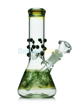 9 Colored Beaker Waterpipe