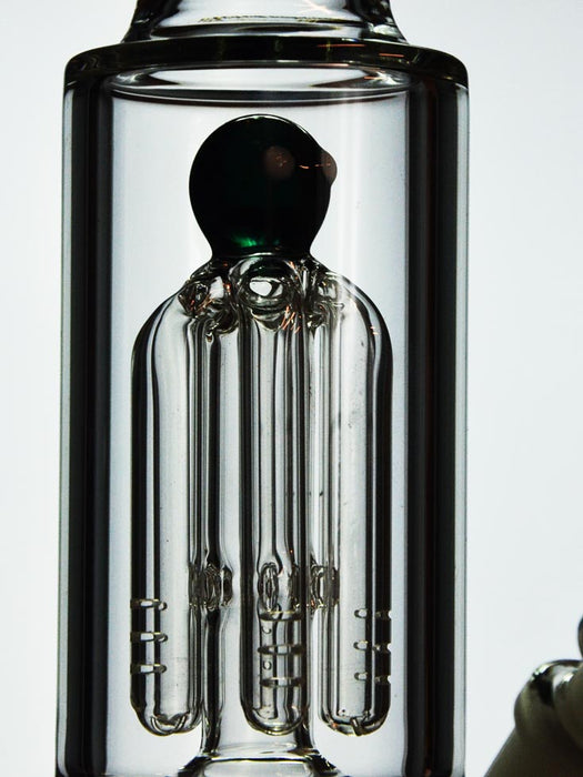 6 Arm Tree Perc Bong - 11 inches