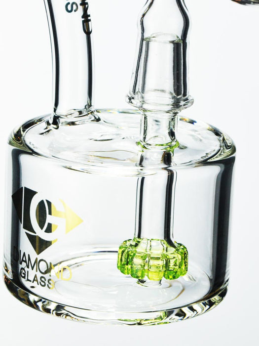 Hockey Puck Oil Rig By Diamond Glass