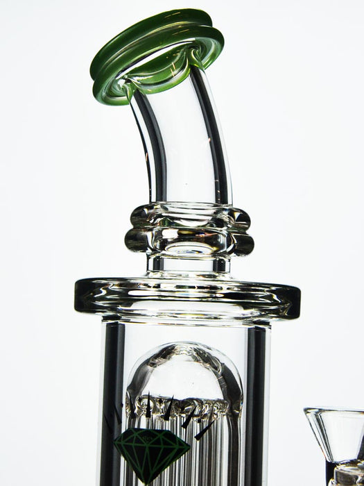 Double Perc Dab Rig by Diamond
