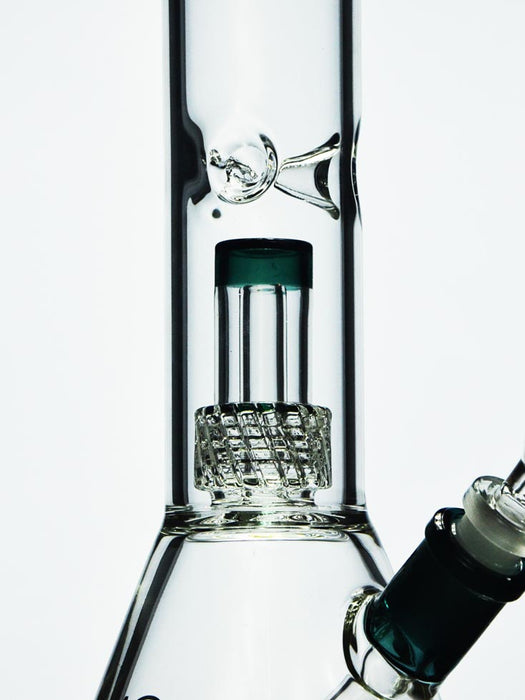 Thick Beaker Bong with Matrix Perc