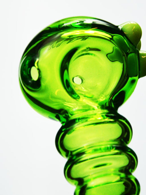 Radioactive Green Pipe by AFM
