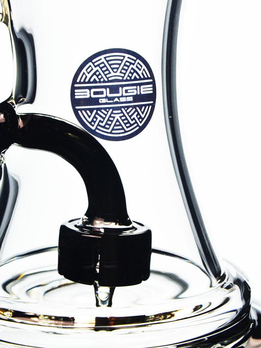 Hourglass Dab Rig by Bougie Glass